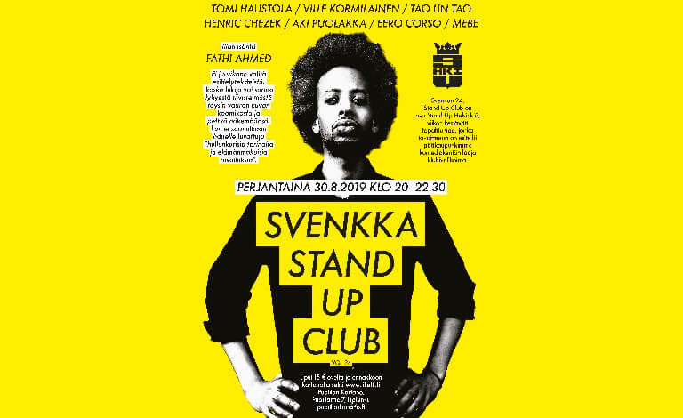Svenkka Stand up Club vol. 24 Biljetter