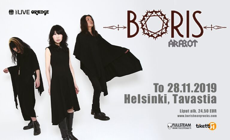 Boris (JPN), Årabrot (NOR) Tickets
