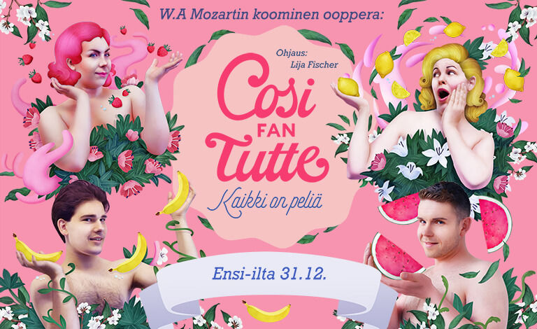 Cosi fan Tutte - Kaikki on peliä Tickets