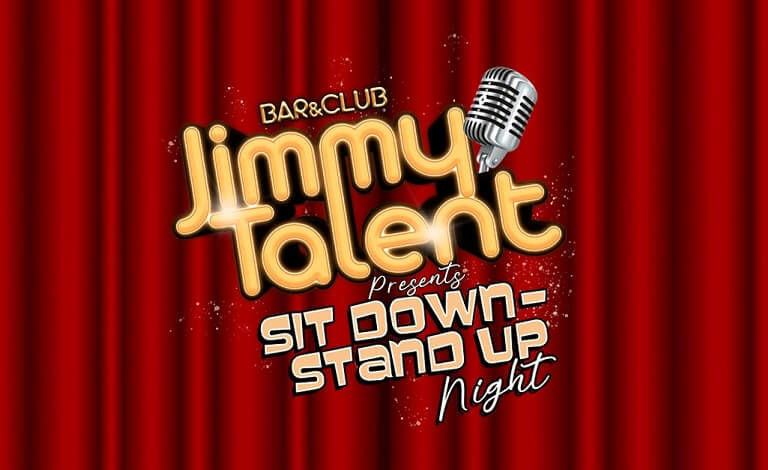Sit Down - Stand Up Night 3 Liput