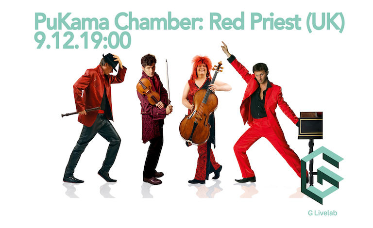 PuKama Chamber: Red Priest (UK) Tickets