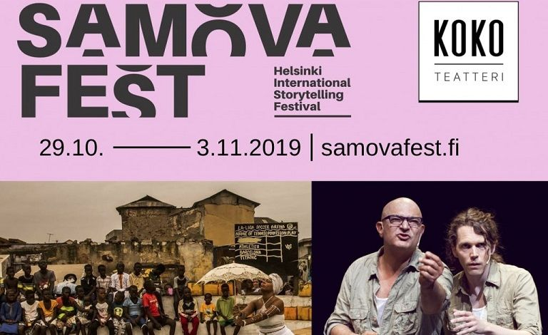 Samova Fest - Helsinki International Storytelling Festival Tickets