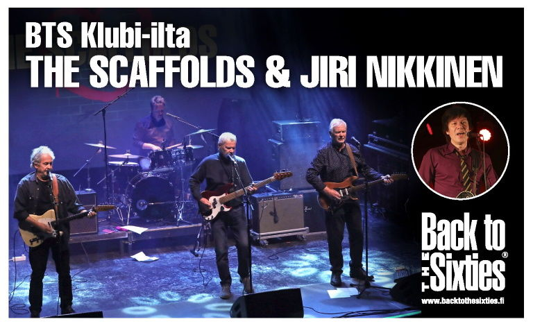 Back to the Sixties: The Scaffolds & Jiri Nikkinen Biljetter