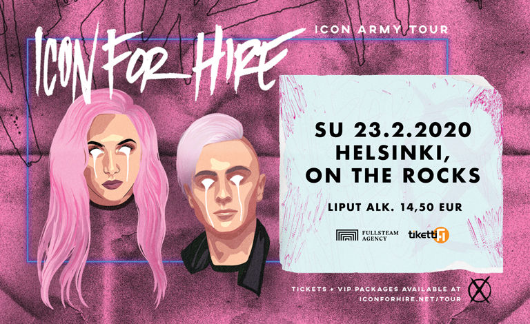 Icon For Hire (US), Cyan Kicks Liput