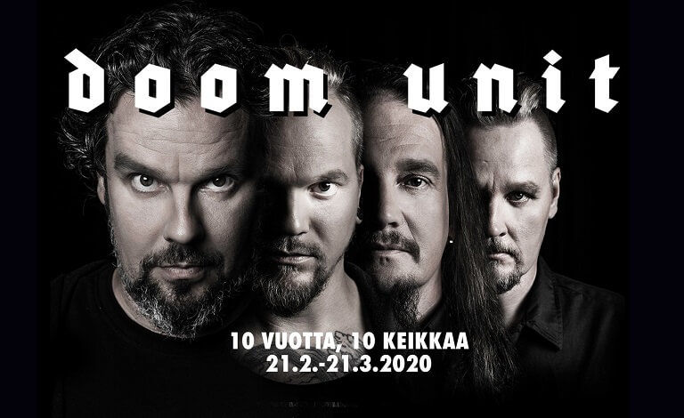 Doom Unit: 10 vuotta, 10 keikkaa Tickets
