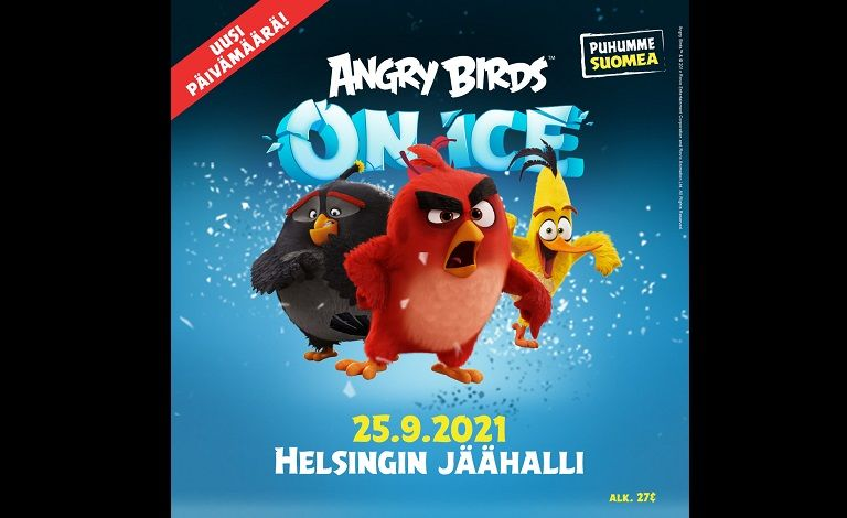 Angry Birds On Ice Tickets