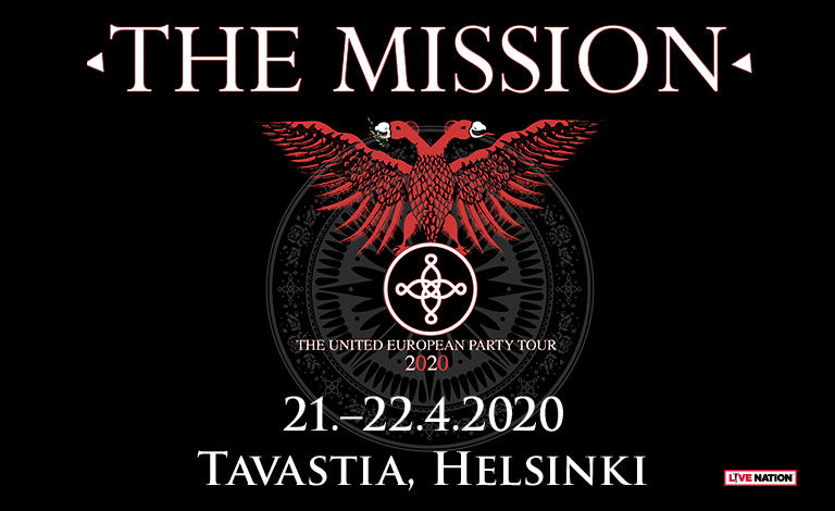 The Mission (UK) Liput
