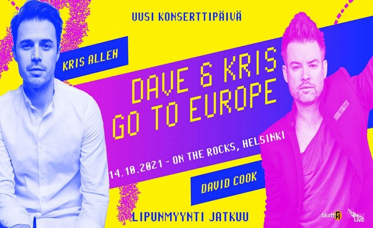 Kris Allen & David Cook (USA) Liput