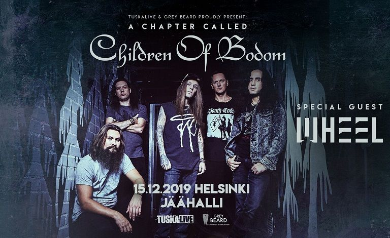 TuskaLive & Grey Beard Proudly Present:  A Chapter Called Children Of Bodom Liput