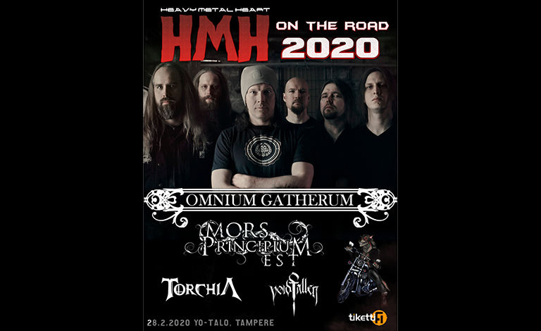 HMH On The Road 2020: Omnium Gatherum + supports Liput