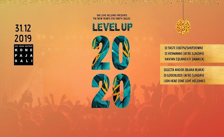 Level Up! New Year's Eve 2020 Liput