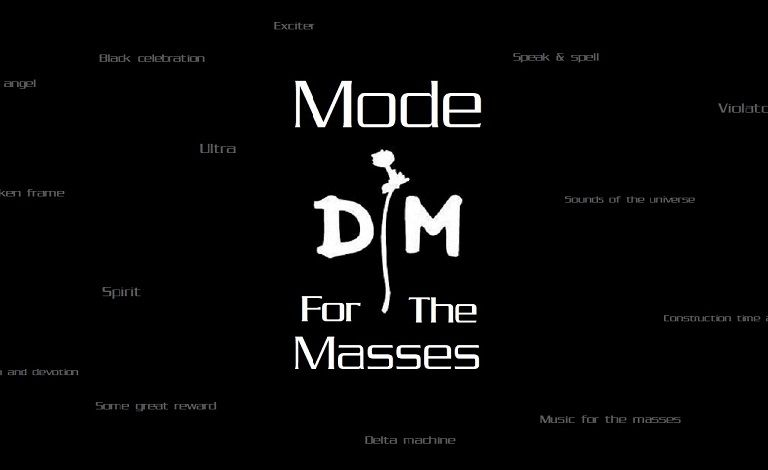 Mode For The Masses - A Depeche Mode tribute Liput