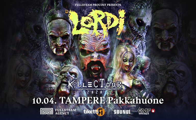 Lordi – Killectour 2020 + S-Tool Liput