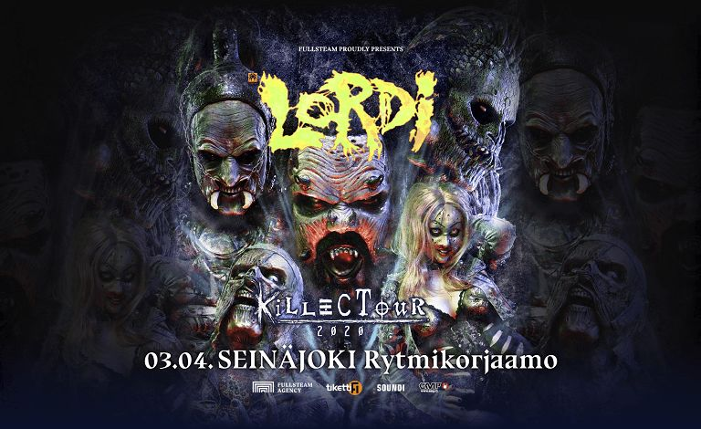 Lordi - Killectour 2020 + special guest: S-TOOL Liput
