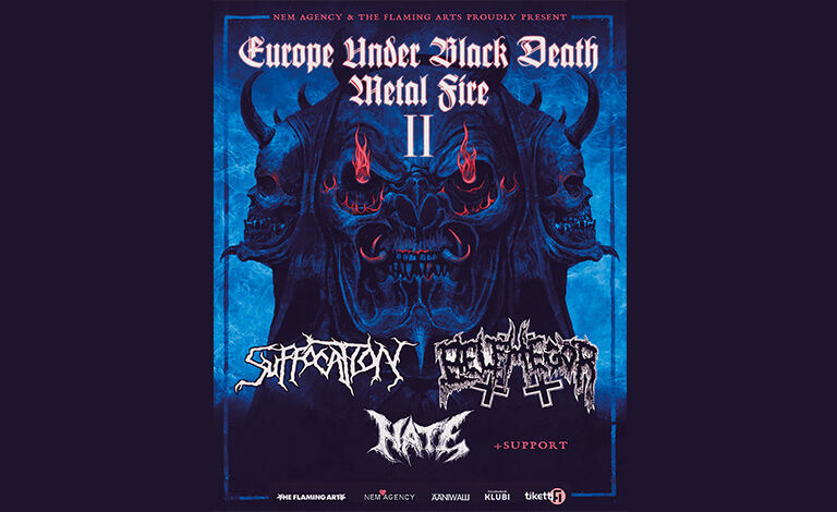 Suffocation (USA), Belphegor (AUT), Hate (POL) Liput