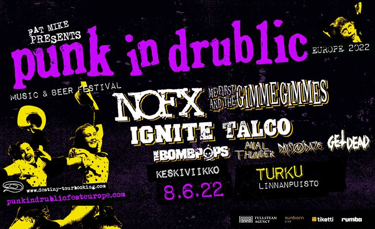 Punk In Drublic Tickets