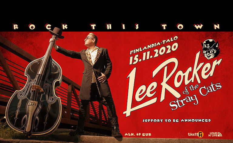 Lee Rocker of The Stray Cats Tickets