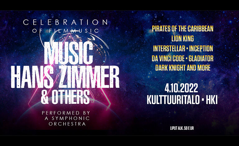 The Music of Hans Zimmer & Others Liput