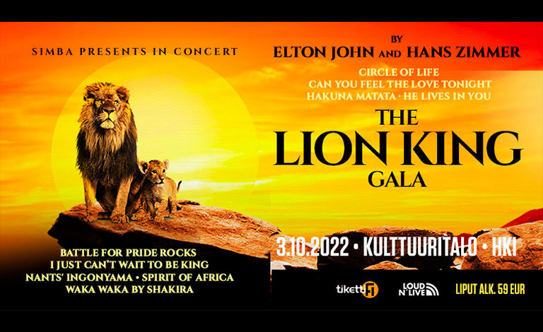 The Lion King Gala Liput