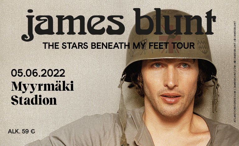 James Blunt - Once Upon A Mind Tour Liput