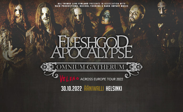 Fleshgod Apocalypse (ITA) & special guest: Ex Deo (CAN) Tickets