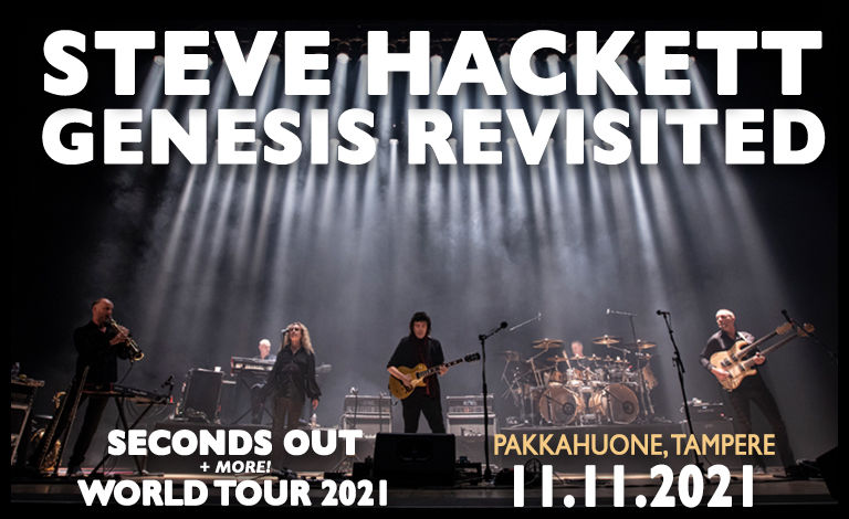 Steve Hackett Genesis Revisited Seconds Out World Tour Tickets