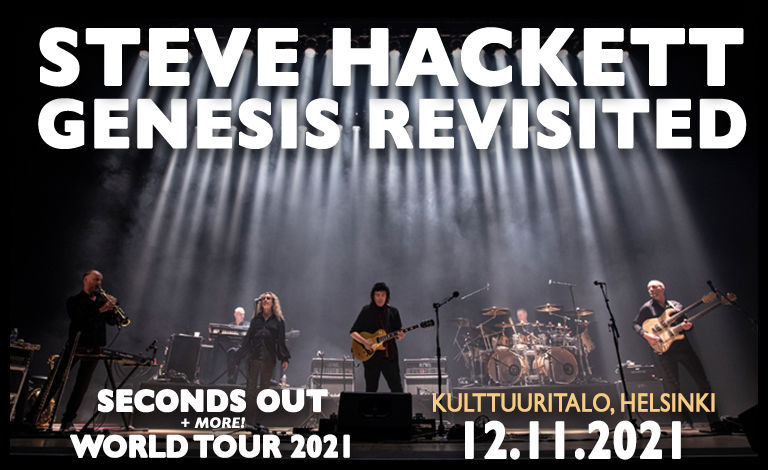 Steve Hackett Genesis Revisited Seconds Out World Tour Liput