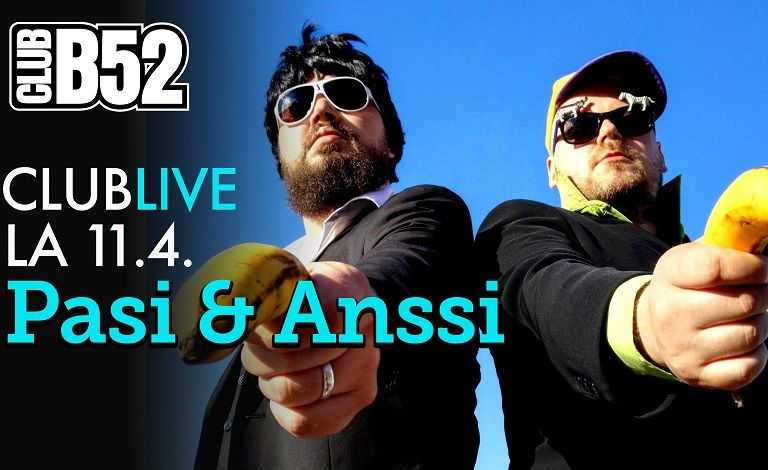 Clublive - Pasi & Anssi Tickets