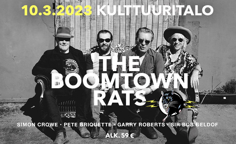 The Boomtown Rats Liput