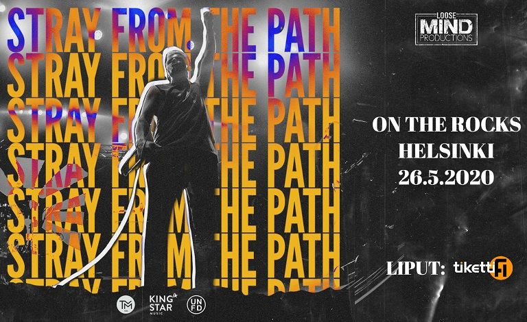 Stray From The Path (USA) Liput
