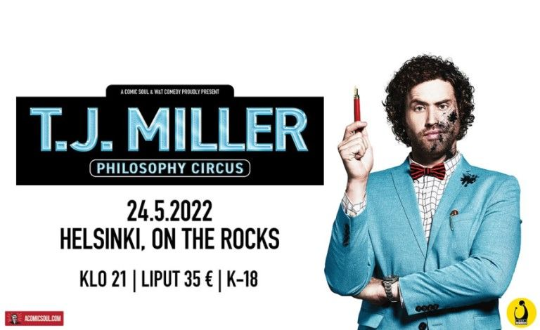 T.J. Miller (USA) Tickets