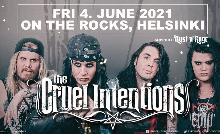 The Cruel Intentions (NOR), Rust n Rage Biljetter