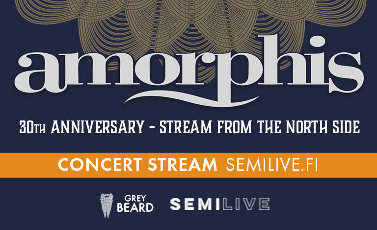 Amorphis 30th Anniversary - Stream From The North Side @ SemiLive (Europe) Liput