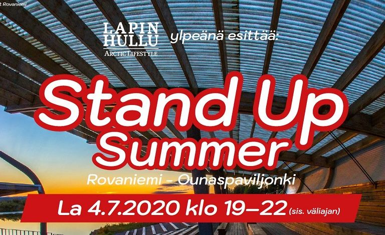 Stand Up Summer Rovaniemi Tickets
