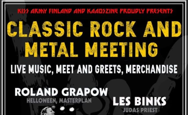 Classic Rock and Metal meeting in Helsinki Liput