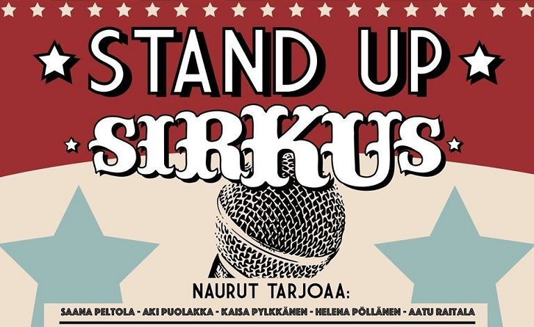 Stand up -sirkus goes poikkeustila Tickets