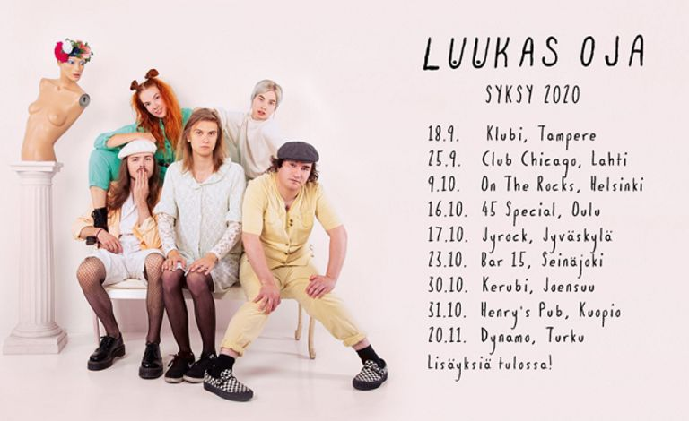 Luukas Oja Tickets
