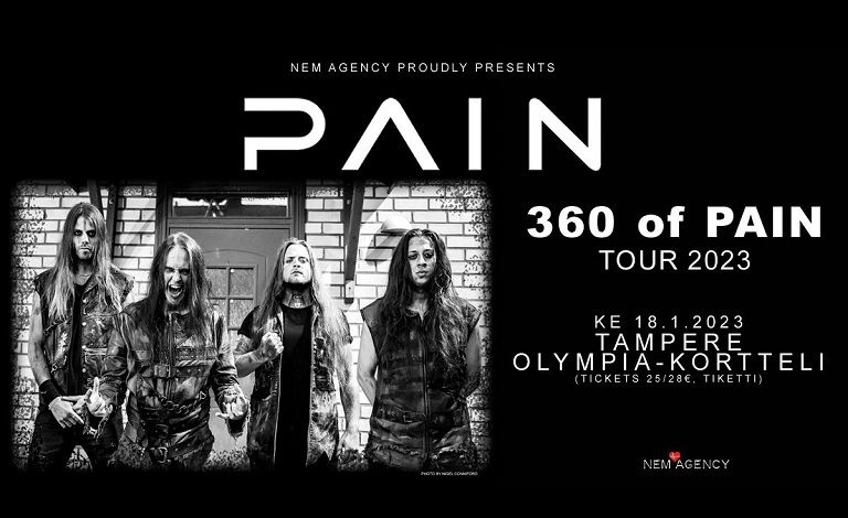 Pain (SWE) + support Liput