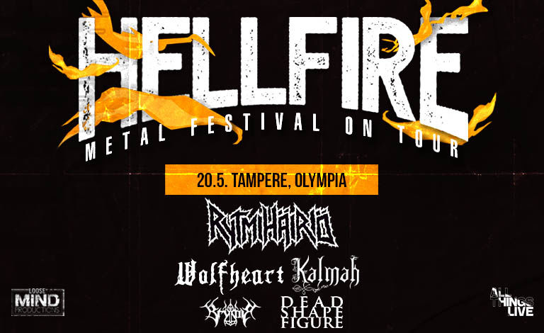 HELLFIRE 2021 – Metal Festival On Tour Liput